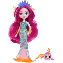 Royal Enchantimals Maura Mermaid és Glide figura