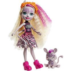 Enchantimals Zadie Zebra és Ref figura