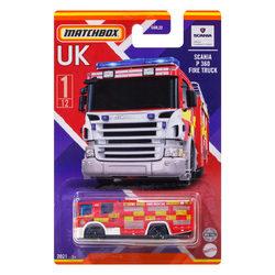 Matchbox UK kollekció kisautó - Scania P 360 Fire Truck