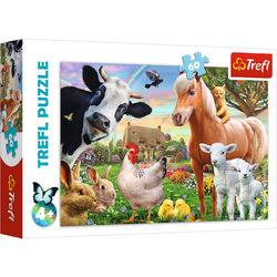 Trefl Boldog farm 60 db-os puzzle