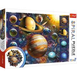 Trefl Spiral puzzle - Naprendszer 1040 db-os