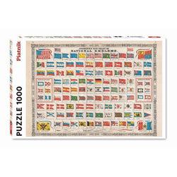 Piatnik Nemzeti zászlók 1000 db-os puzzle
