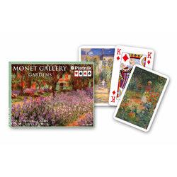 Piatnik Monet Garden Művész römikártya