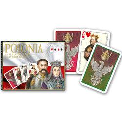 Piatnik Polonia - Lengyelország Luxus römi kártya