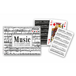 Piatnik Music Luxus römi kártya
