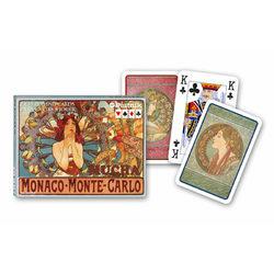 Piatnik Mucha - Monte Carlo művész römi kártya