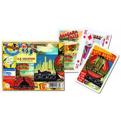 Piatnik U.S. Vacation Luxus römi kártya