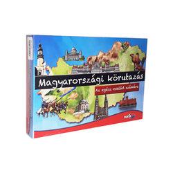 Noris Magyarországi Körutazás társasjáték