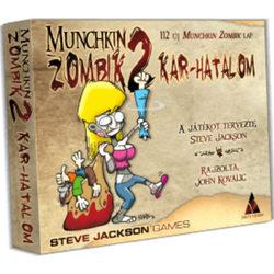 Munchkin Zombik 2 - Kar-hatalom társasjáték kiegészítő