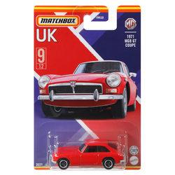 Matchbox UK kollekció kisautó - 1971 MGB GT Coupe