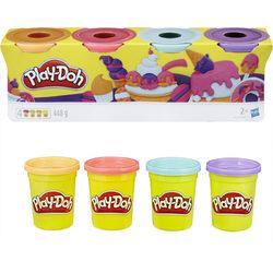 Hasbro Play-Doh 4 db-os tégelyes gyurmakészlet