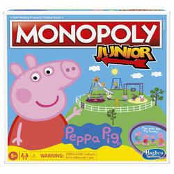 Hasbro Peppa malac Monopoly junior társasjáték
