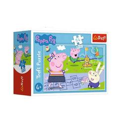 Trefl Peppa Malac - 54 db-os mini puzzle