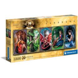 Clementoni Anne Stokes - Sárkány barátság 1000 db-os puzzle