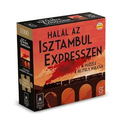 Halál az Isztambul expresszen puzzle rejtéllyel, 1000 db-os
