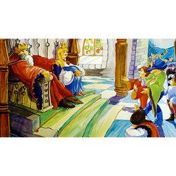 Szélike és János királyfi diafilm