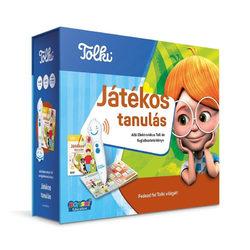 Tolki Játékos tanulás interaktív foglalkoztató könyv készlet
