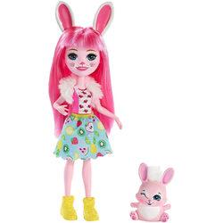 Enchantimals Bree Bunny és Twist játékfigurák