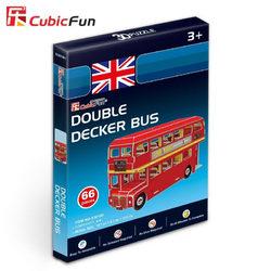 Mini Londoni emeletes busz 3D puzzle 66 db-os