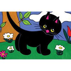 Cikicakk, a fekete cica diafilm