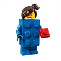 LEGO® 71021 Minifigura 18. sorozat LEGO kocka jelmezes lány