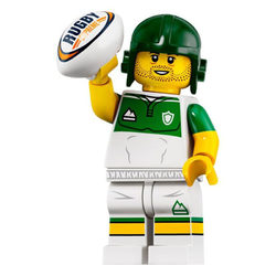 LEGO® 71025  Minifigura 19.széria Rögbijátékos