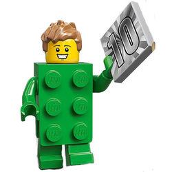 LEGO® 71027 Minifigura 20.széria Kockajelmezes fiú