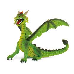 Bullyland 75593 Ülő sárkány, zöld