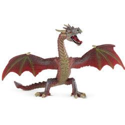Bullyland 75591 Repülő sárkány, vörös-barna