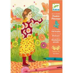 Djeco kifestő - Kislány a kertben